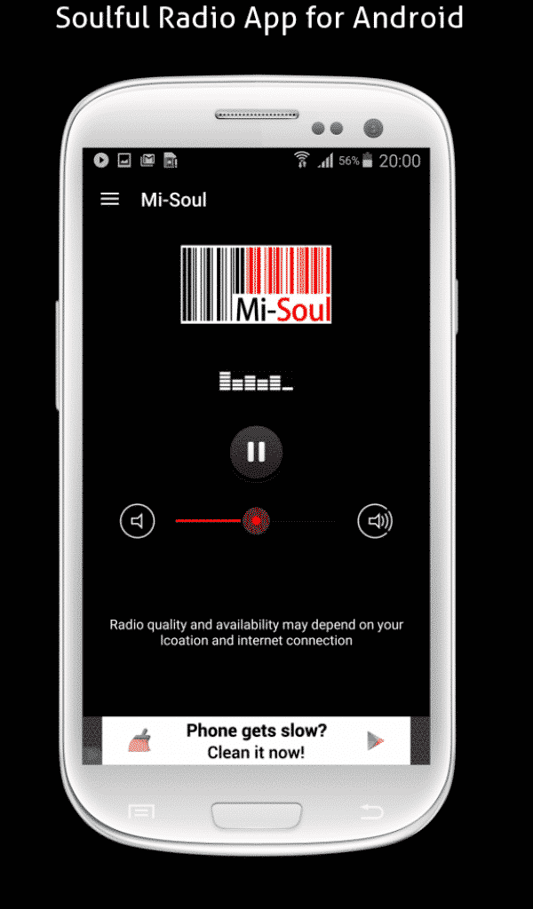 Android Mi-Soul App