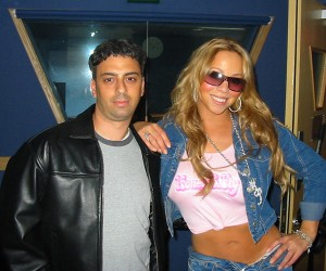 George and Mariah Carey