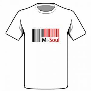 mi-soul logo t-shirt