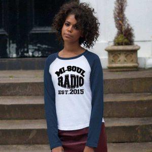mi-soul radio retro long sleeved t shirt