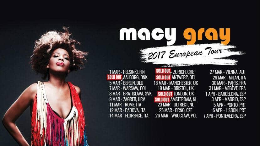 Macy Gray Tickets