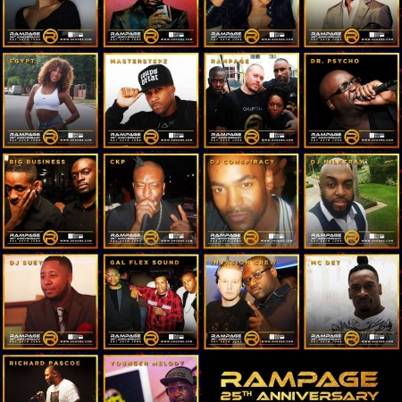 rampage 25th Anniversary