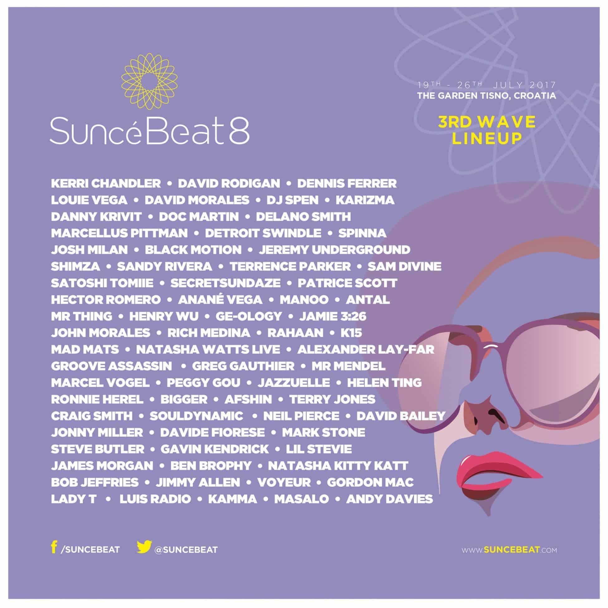 suncebeat 8