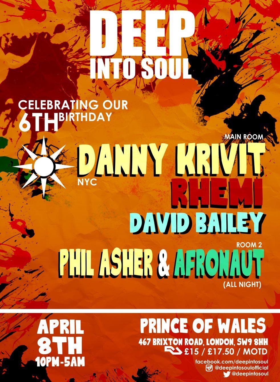 Deep Into Soul Danny Krivit