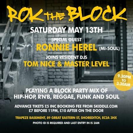 13 may rok the block