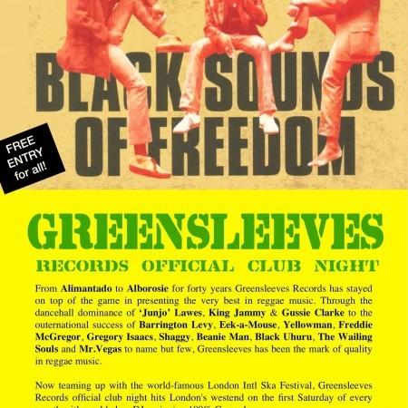 greensleeves club night