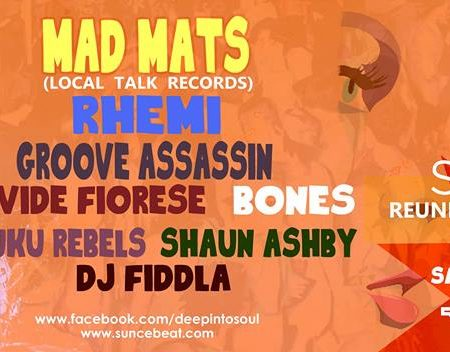 Deep Into Soul present Official Suncebeat Reunion with Mad Mats