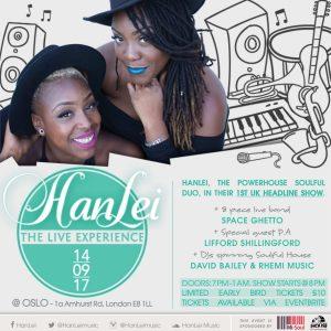 Mi-Soul Radio and SoulHouse Music Present: HanLei - The LIVE Experience