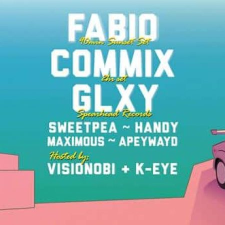 Drum & Bass Day-Night Rooftop Rave w/ Fabio, Commix, GLXY & more
