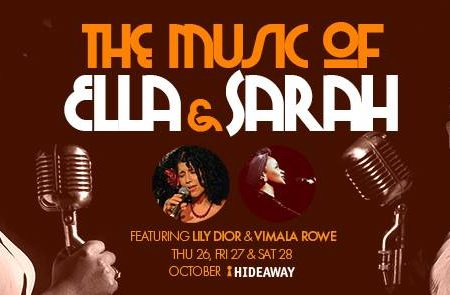 The Music of Ella Fitzgerald and Sarah Vaughan - Friday