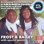 sun & Bass DJ Bailey Jumpin Jack Frost