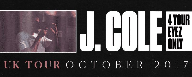 J COLE in London O2