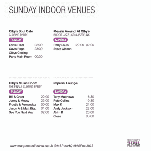 #MSFest2017 sunday Timetable
