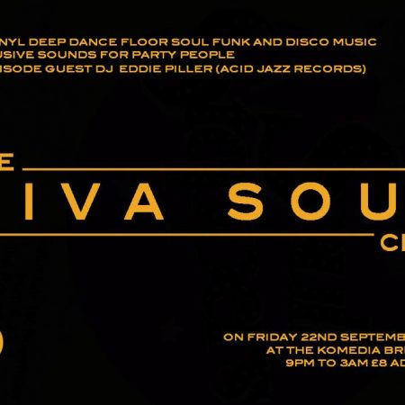 The Viva Soul Club at Brighton's Komedia w/ DJ Eddie Piller
