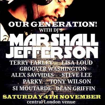 WE ARE BALEARIC PRESENTS OUR GENERATION WITH MARSHALL JEFFERSON
