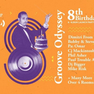 Groove Odyssey 8th Birthday & Album Launch Party