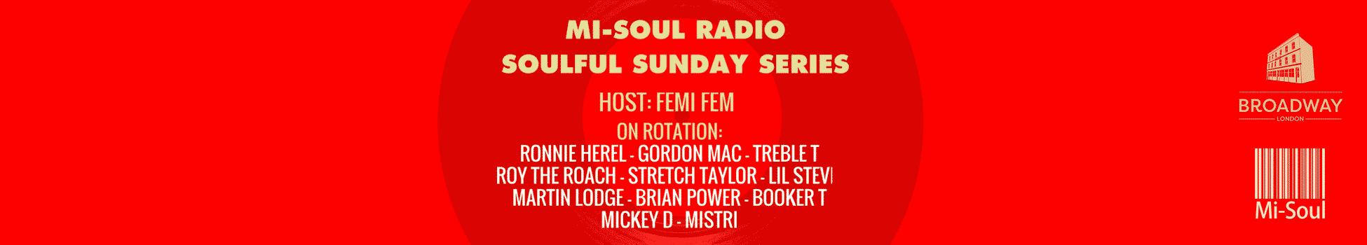Mi-Soul Radio Soulful Sunday Series