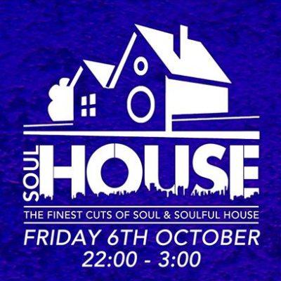 SoulHouse 6 October Market House Brixton
