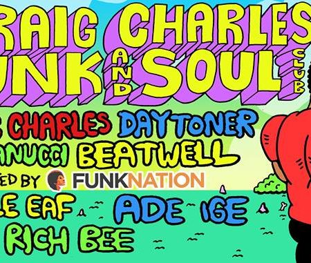 Craig Charles Funk and Soul Club - Brighton