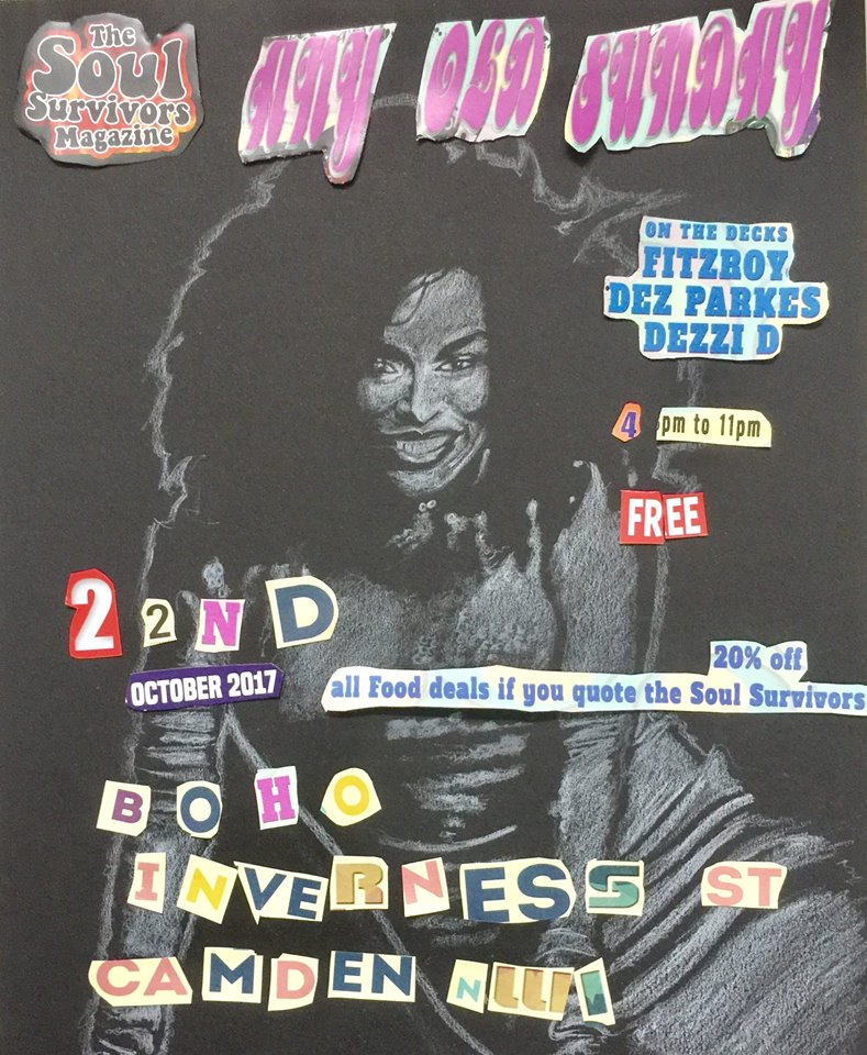 Any Old Sunday flyer