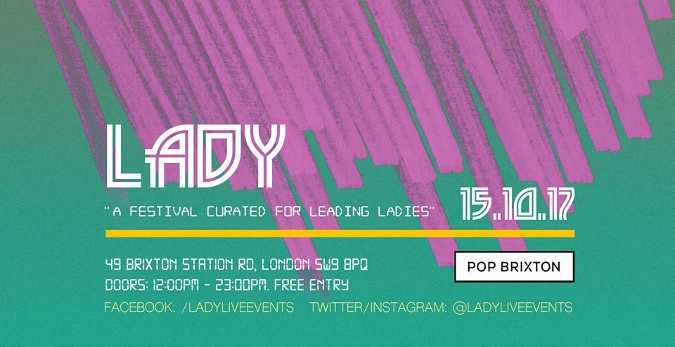 lADY Live Festival 2017 Flyer