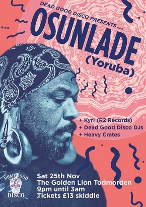 Dead Good Disco Presents Osunlade