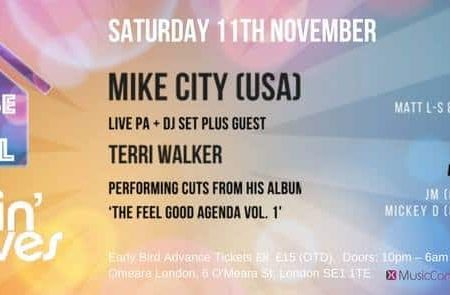 House 4 Soul & Makin' Moves present Mike City (USA)