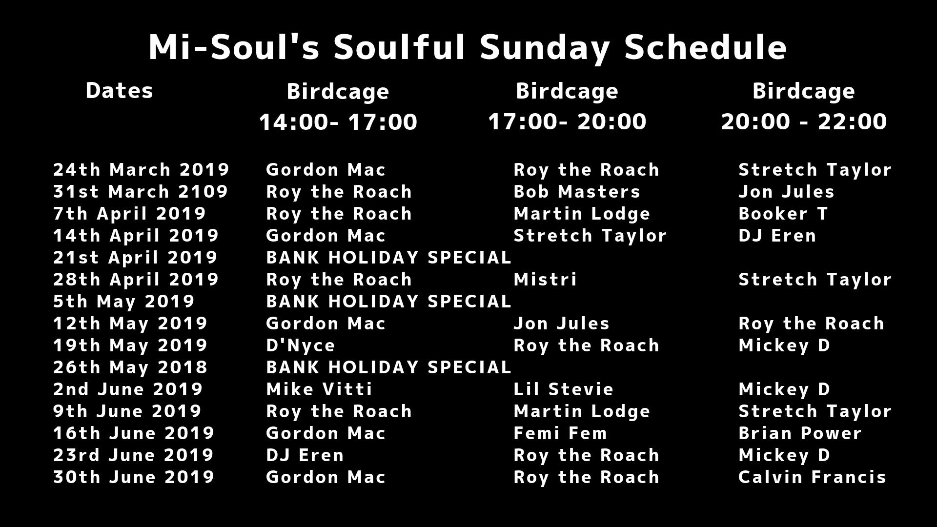 740d450109438 Mi-Soulful Sundays Fest Camden | Mi-Soul