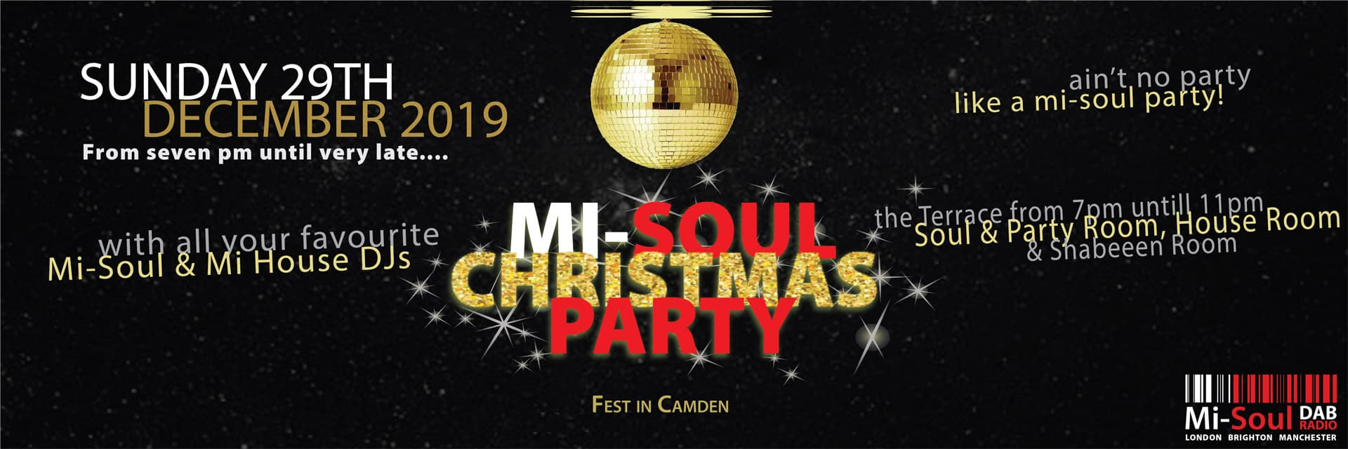Christmas Party Mi-Soul @ Fest